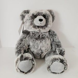 """Hudson Park Coll. Frosted plush bear 12"""""""